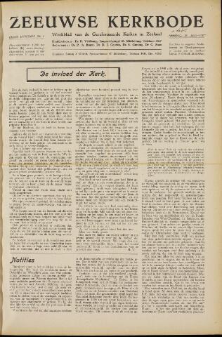 Zeeuwsche kerkbode, weekblad gewijd aan de belangen der gereformeerde kerken/ Zeeuwsch kerkblad 1950-09-01