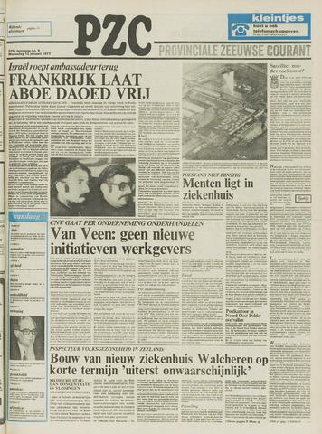 Provinciale Zeeuwse Courant 1977-01-12