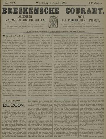 Breskensche Courant 1905-04-05