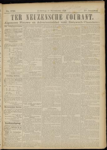 Ter Neuzensche Courant. Algemeen Nieuws- en Advertentieblad voor Zeeuwsch-Vlaanderen / Neuzensche Courant ... (idem) / (Algemeen) nieuws en advertentieblad voor Zeeuwsch-Vlaanderen 1918-11-16