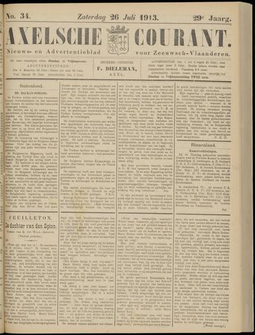 Axelsche Courant 1913-07-26