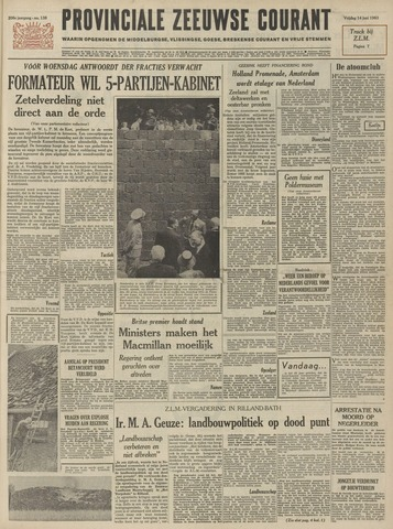 Provinciale Zeeuwse Courant 1963-06-14