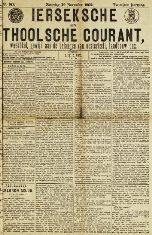 Ierseksche en Thoolsche Courant 1902-11-29