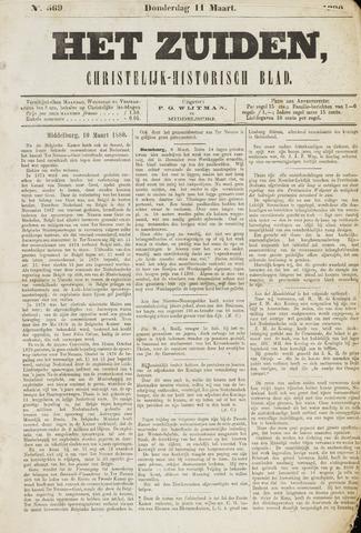 Het Zuiden, Christelijk-historisch blad 1880-03-11