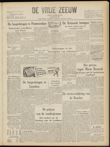 de Vrije Zeeuw 1952-02-22