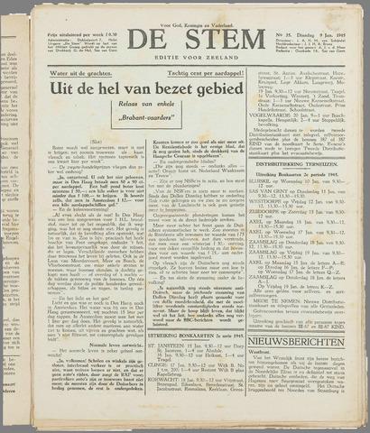 de Stem 1945-01-09