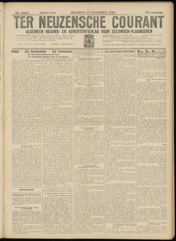 Ter Neuzensche Courant. Algemeen Nieuws- en Advertentieblad voor Zeeuwsch-Vlaanderen / Neuzensche Courant ... (idem) / (Algemeen) nieuws en advertentieblad voor Zeeuwsch-Vlaanderen 1938-11-21