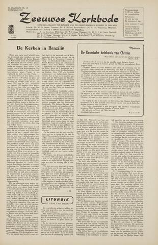 Zeeuwsche kerkbode, weekblad gewijd aan de belangen der gereformeerde kerken/ Zeeuwsch kerkblad 1965-01-15