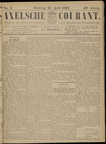 Axelsche Courant 1917-04-21
