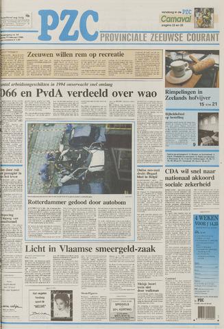 Provinciale Zeeuwse Courant 1995-02-21