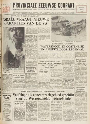 Provinciale Zeeuwse Courant 1970-08-11