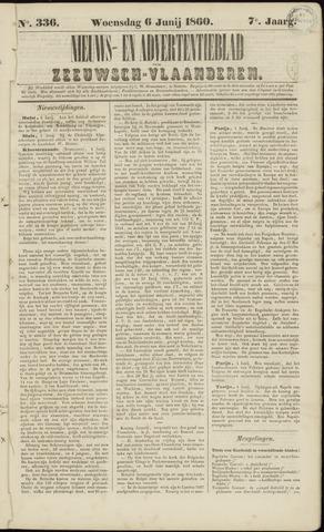 Ter Neuzensche Courant. Algemeen Nieuws- en Advertentieblad voor Zeeuwsch-Vlaanderen / Neuzensche Courant ... (idem) / (Algemeen) nieuws en advertentieblad voor Zeeuwsch-Vlaanderen 1860-06-06