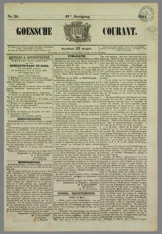 Goessche Courant 1854-03-13