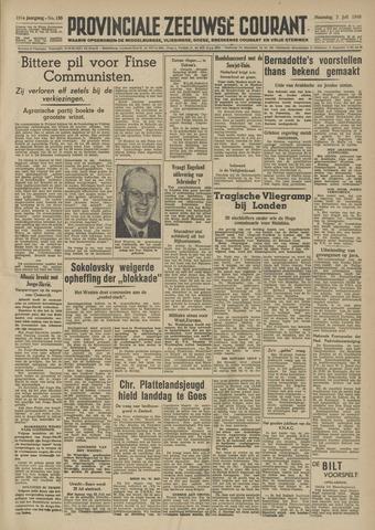 Provinciale Zeeuwse Courant 1948-07-05