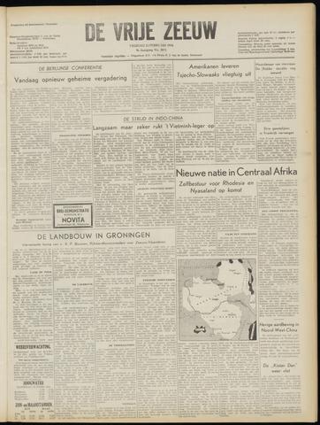 de Vrije Zeeuw 1954-02-12