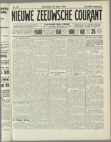 Nieuwe Zeeuwsche Courant 1916-03-30
