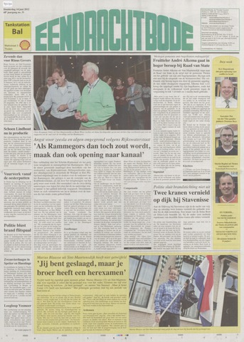 Eendrachtbode (1945-heden)/Mededeelingenblad voor het eiland Tholen (1944/45) 2012-06-14