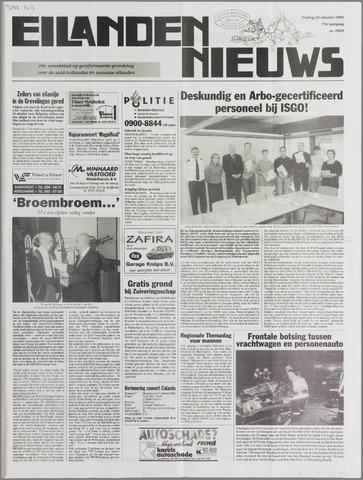 Eilanden-nieuws. Christelijk streekblad op gereformeerde grondslag 2000-10-20