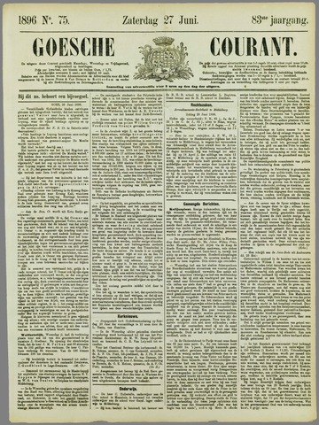 Goessche Courant 1896-06-27
