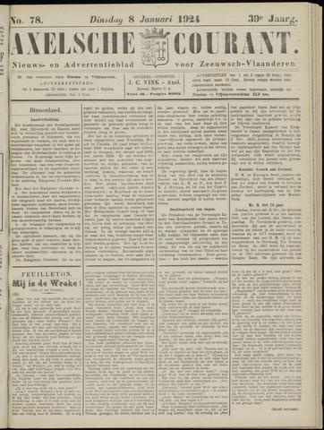 Axelsche Courant 1924-01-08
