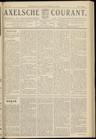 Axelsche Courant 1930-11-18