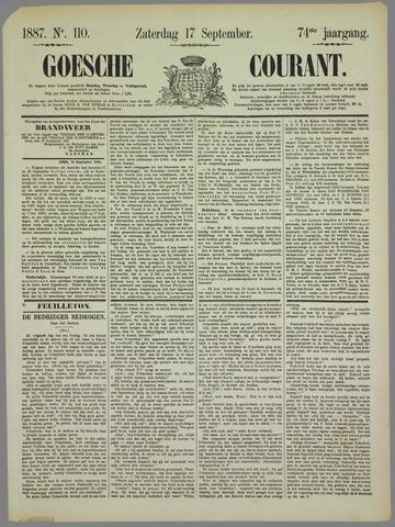 Goessche Courant 1887-09-17