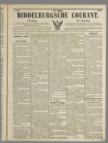 Middelburgsche Courant 1906-10-30