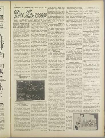 De Zeeuw. Christelijk-historisch nieuwsblad voor Zeeland 1944-02-23