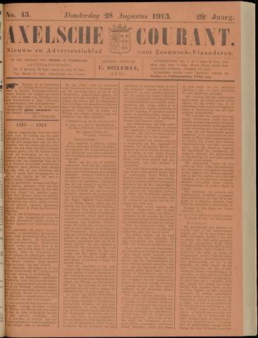 Axelsche Courant 1913-08-28