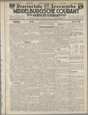 Middelburgsche Courant 1934-04-24