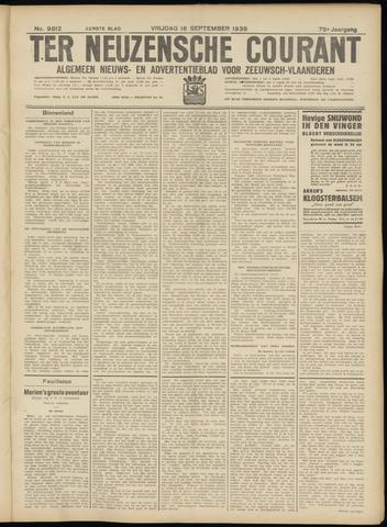 Ter Neuzensche Courant. Algemeen Nieuws- en Advertentieblad voor Zeeuwsch-Vlaanderen / Neuzensche Courant ... (idem) / (Algemeen) nieuws en advertentieblad voor Zeeuwsch-Vlaanderen 1938-09-16