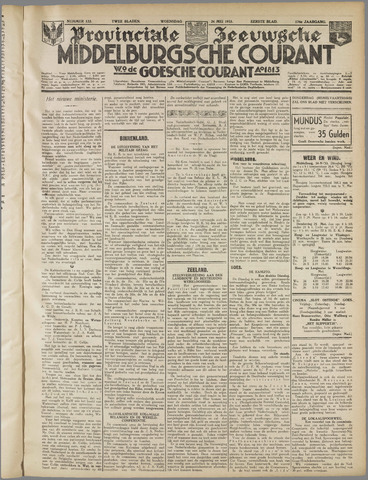 Middelburgsche Courant 1933-05-24