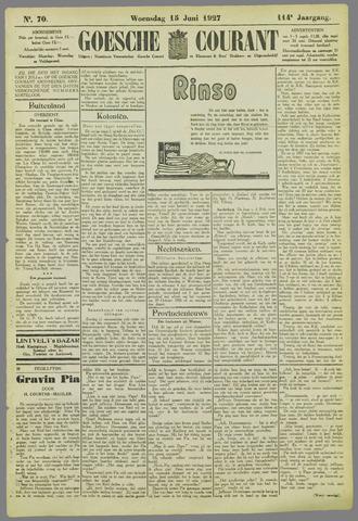 Goessche Courant 1927-06-15