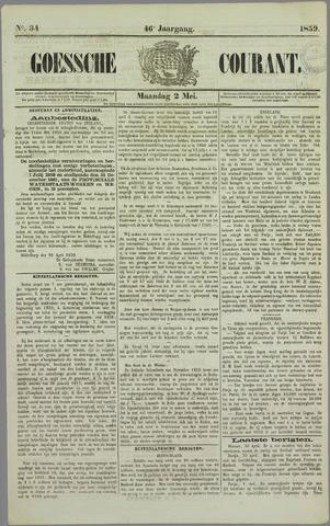 Goessche Courant 1859-05-02