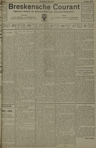 Breskensche Courant 1934-07-21