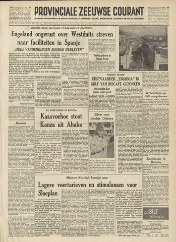 Provinciale Zeeuwse Courant 1960-02-24