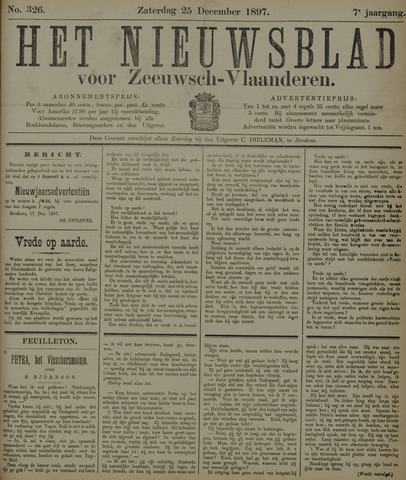 Nieuwsblad voor Zeeuwsch-Vlaanderen 1897-12-25