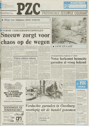 Provinciale Zeeuwse Courant 1984-01-24