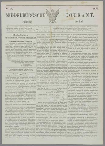 Middelburgsche Courant 1854-05-30