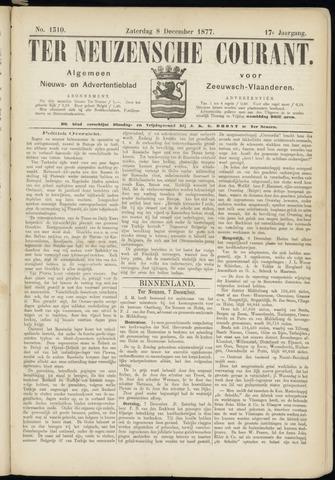 Ter Neuzensche Courant. Algemeen Nieuws- en Advertentieblad voor Zeeuwsch-Vlaanderen / Neuzensche Courant ... (idem) / (Algemeen) nieuws en advertentieblad voor Zeeuwsch-Vlaanderen 1877-12-08