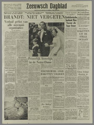 Zeeuwsch Dagblad 1960-01-08