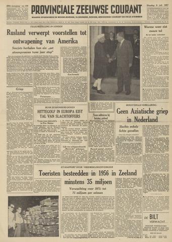 Provinciale Zeeuwse Courant 1957-07-09