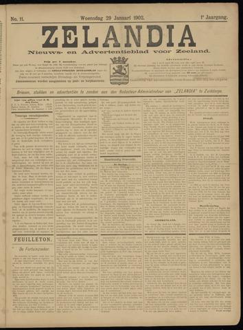 Zelandia. Nieuws-en advertentieblad voor Zeeland | edities: Het Land van Hulst en De Vier Ambachten 1902-01-29