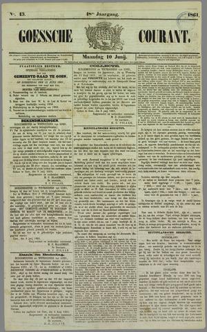 Goessche Courant 1861-06-10