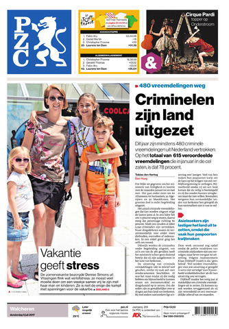 Provinciale Zeeuwse Courant 2017-07-06