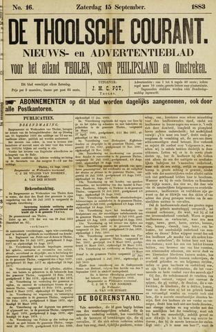 Ierseksche en Thoolsche Courant 1883-09-15