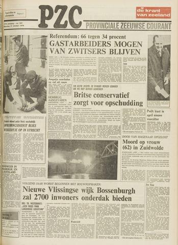 Provinciale Zeeuwse Courant 1974-10-21