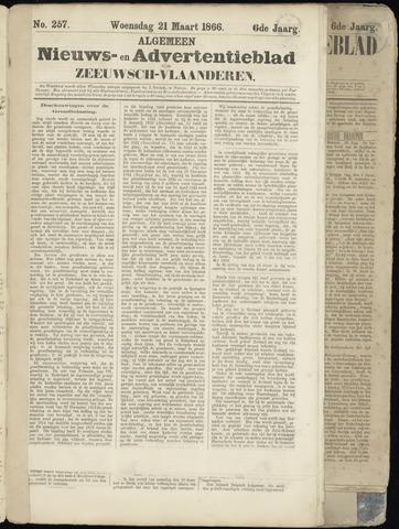 Ter Neuzensche Courant. Algemeen Nieuws- en Advertentieblad voor Zeeuwsch-Vlaanderen / Neuzensche Courant ... (idem) / (Algemeen) nieuws en advertentieblad voor Zeeuwsch-Vlaanderen 1866-03-21