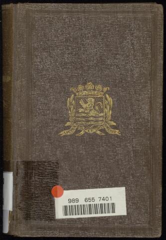 Zeeland jaarboekje 1852-01-01