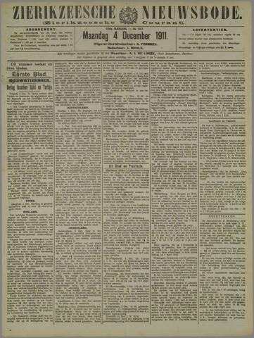 Zierikzeesche Nieuwsbode 1911-12-04
